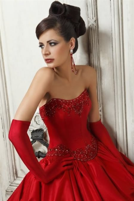 Wearing Red Wedding Dress Start From You Pretty Chic Lady World